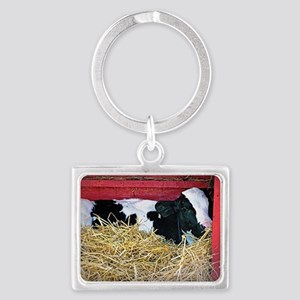 Cow Photo Landscape Keychain