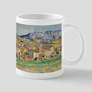 La montagne Sainte-Victoire - Paul Cezanne - c1886