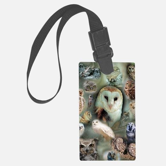 Owls Luggage Tag
