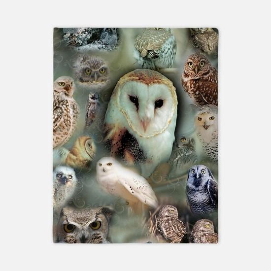 Owls Twin Duvet