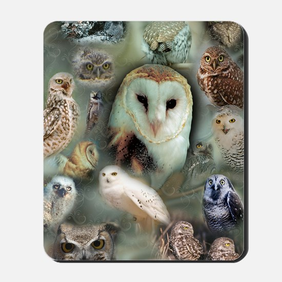 Owls Mousepad