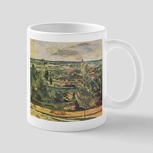 Landscape at the Jas-de-Bouffan - Paul Cezanne - c