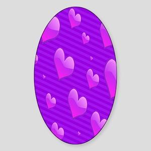 hearts copyy1 Sticker (Oval)