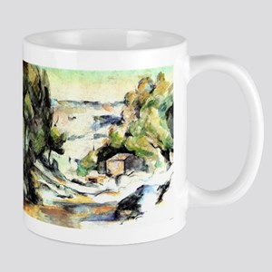 Landscape in the Ile de France - Paul Cezanne - c1