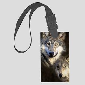 Wolfpack Large Luggage Tag