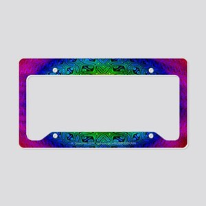 polychrome pc License Plate Holder
