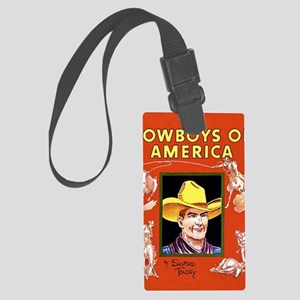 Cowboys of America Large Luggage Tag