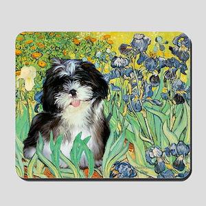Irises - Shih Tzu 12 Mousepad