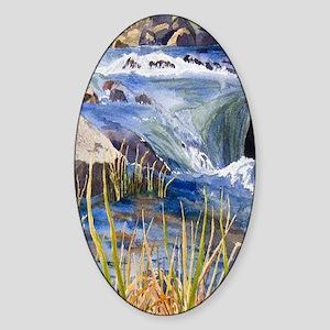 Landscape Sticker (Oval)