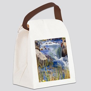 Landscape Canvas Lunch Bag