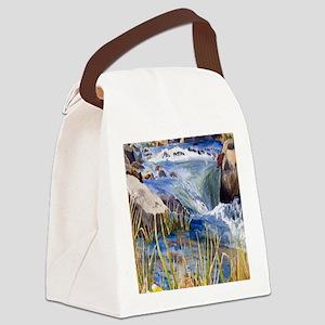 Landscape Canvas Lunch Bag