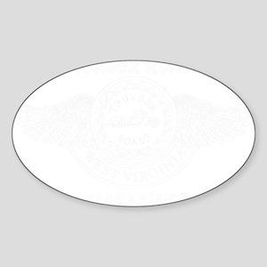 old_Thunder-roadswhite Sticker (Oval)