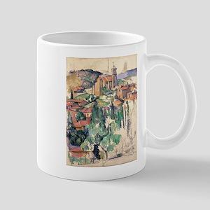 Look at Gardanne - Paul Cezanne - c1885 11 oz Cera