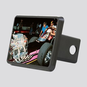 The Lonely Dragster Rectangular Hitch Cover
