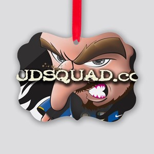 Angry Mudder Picture Ornament