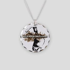 Muddy Bikini Necklace Circle Charm
