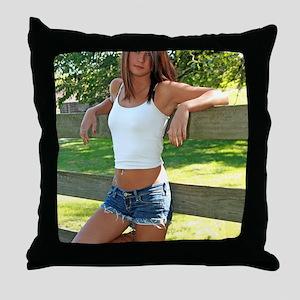 Jenn (82) Throw Pillow