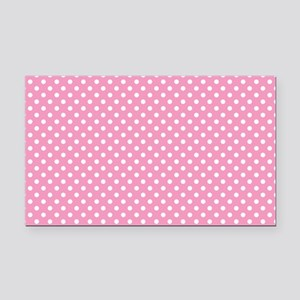 pinkpolkadotlaptopskin Rectangle Car Magnet