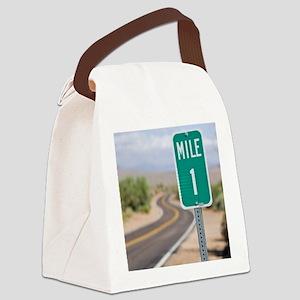 flipflop04b Canvas Lunch Bag