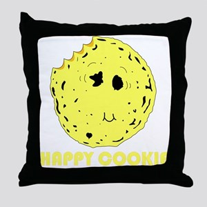 HAPPY COOKIE Throw Pillow