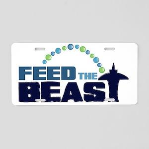 feedtheBEAST Aluminum License Plate
