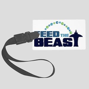 feedtheBEAST Large Luggage Tag