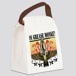 von grease monkey Canvas Lunch Bag