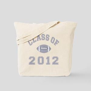 Class Of 2012 Football - Grey 2 D Tote Bag