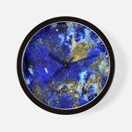 Lazurite-Blue-iPad2 Wall Clock