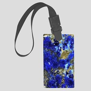 Lazurite-Blue-iPad2 Large Luggage Tag