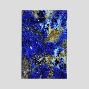 Lazurite-Blue-iPad2 Rectangle Magnet
