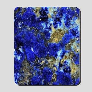 Lazurite-Blue-iPad2 Mousepad