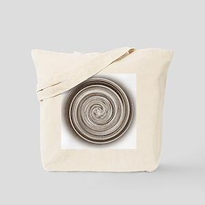Brown Swirl Tote Bag