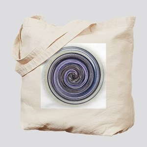 purple swirl Tote Bag