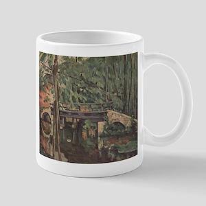 Maincy bridge - Paul Cezanne - c1880 11 oz Ceramic