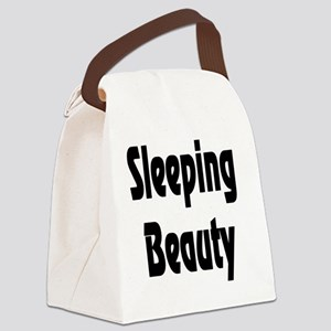 SleepingBeauty Canvas Lunch Bag