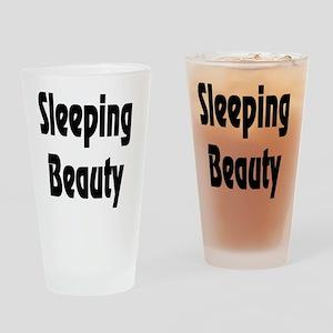 SleepingBeauty Drinking Glass