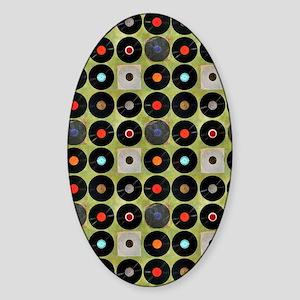 flipflops-6 Sticker (Oval)