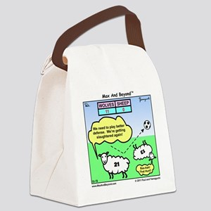 000046A10X10 Canvas Lunch Bag