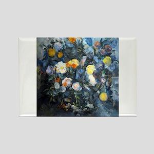 Flowers - Paul Cezanne - c1902 Magnets