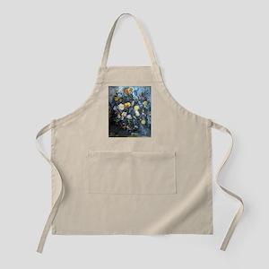 Flowers - Paul Cezanne - c1902 Light Apron