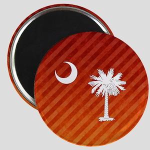 South Carolina Palmetto State Flag Magnet