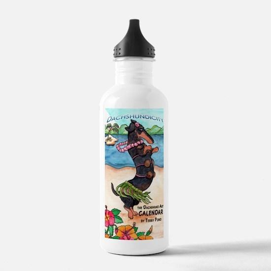 hulabt11x17 Water Bottle