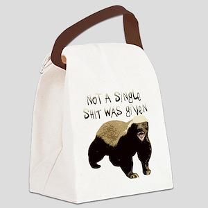 badger Canvas Lunch Bag