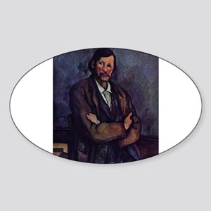 Man with arms crossed - Paul Cezanne - c1866 Stick
