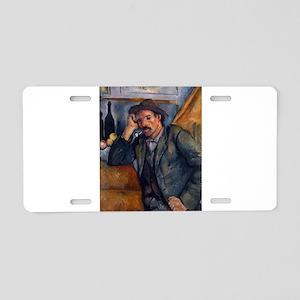Man with pipe - Paul Cezanne - c1890 Aluminum Lice
