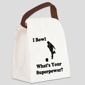 BOWLsuperpower Canvas Lunch Bag