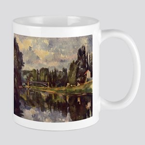Marne Shore - Paul Cezanne - c1888 11 oz Ceramic M