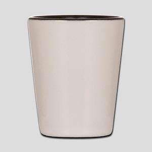 alignment_white Shot Glass
