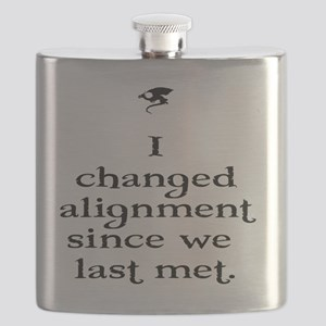 I changed alignment since we last met. Flask